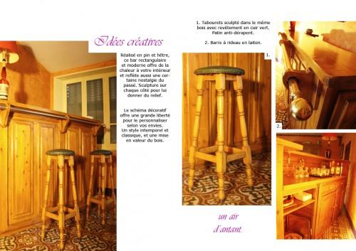 bar, bois, alcool, convivial, décoration, art