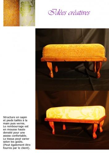 pouf, tissus, assise, confortable, maison, décoration, rembourage, mousse